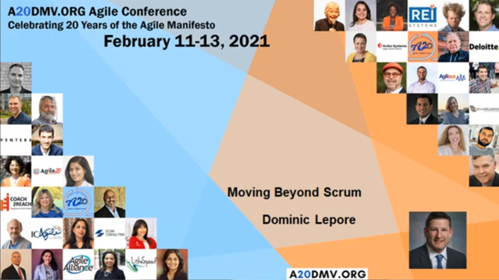 Moving Beyond Scrum, Dominic Lepore