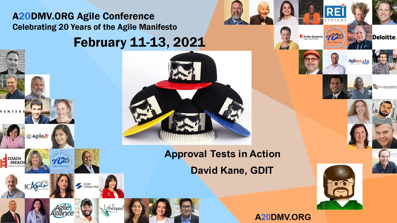 Agile Approval Testing with David Kane