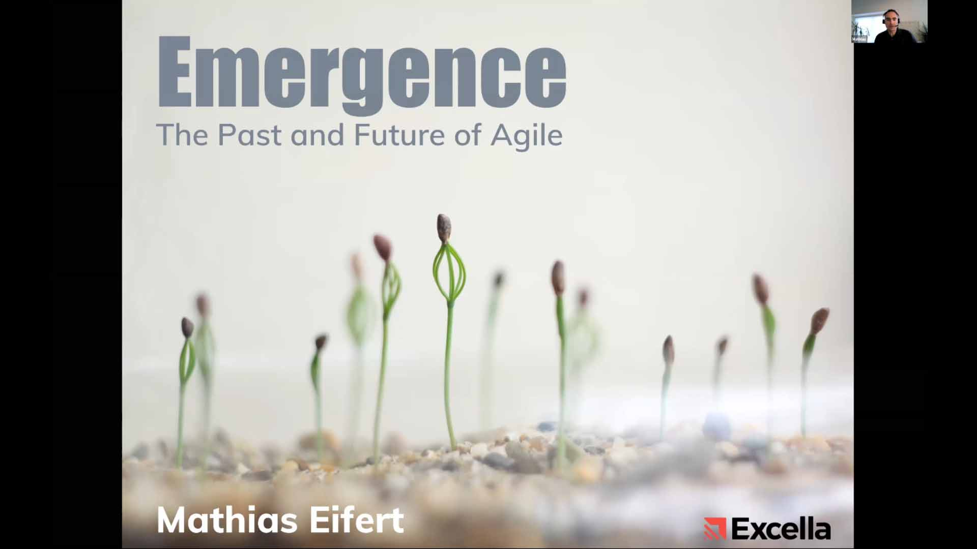 Emergence, The past and future of Agile by Mathias Eifert