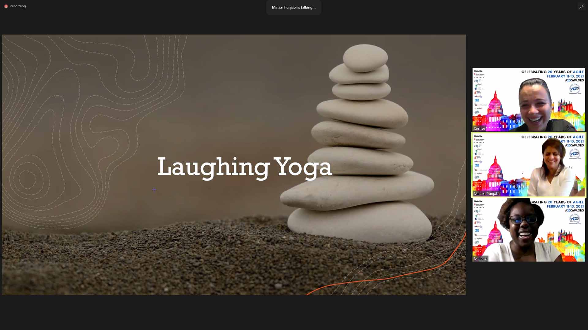 Laughing Yoga, Belly Laughs with Melissa Daley