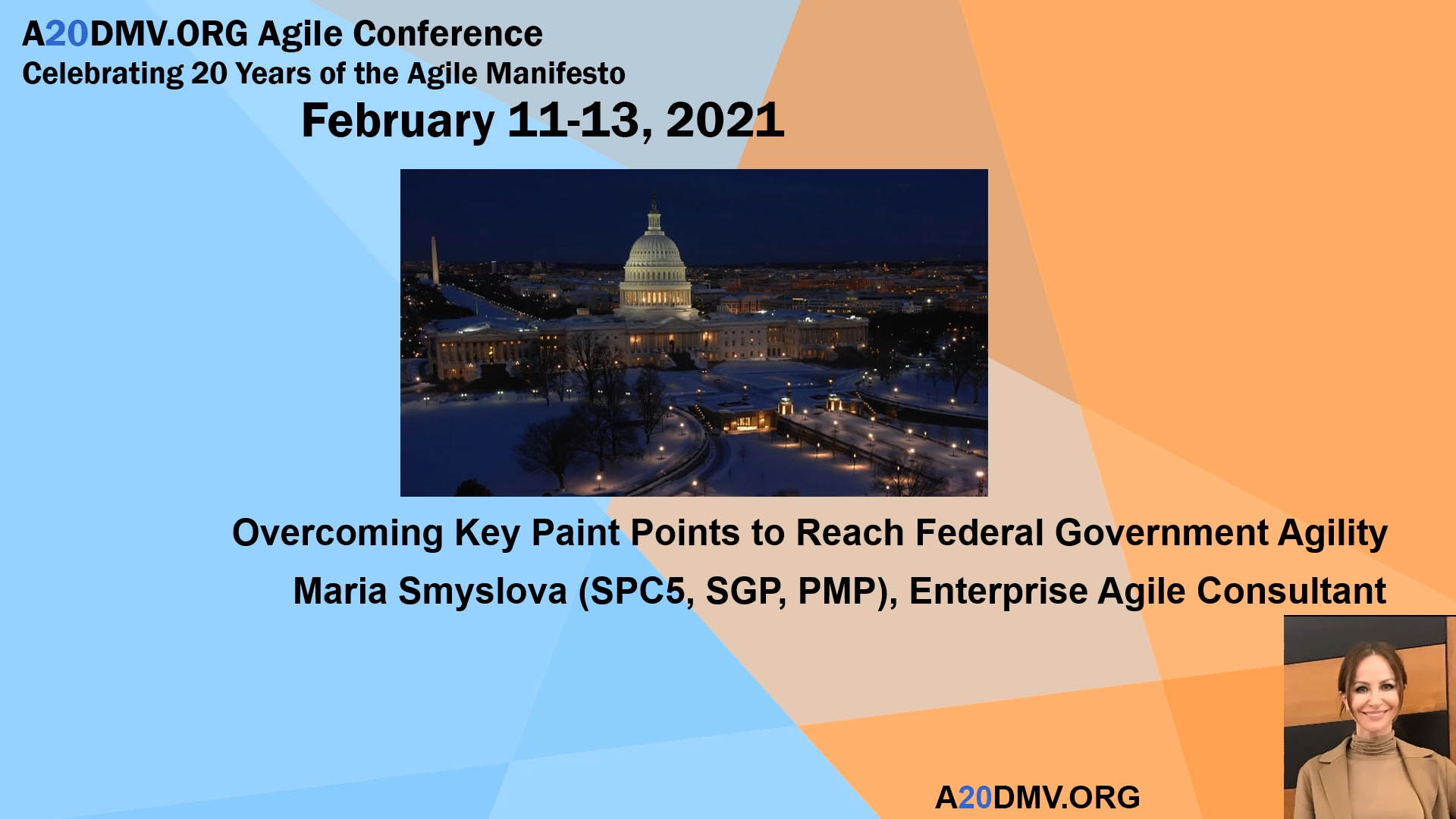 Reaching Government Agility - Maria Smyslova
